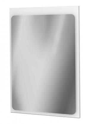 Zrcadlo do koupelny Zrcadlový panel 48 cm (bílá vysoký lesk)