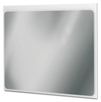 Zrcadlo do koupelny Zrcadlový panel 80 cm (bílá vysoký lesk)