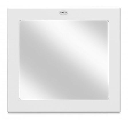 Zrcadlo Malibu - Zrcadlo (bílá, 80x86 cm)
