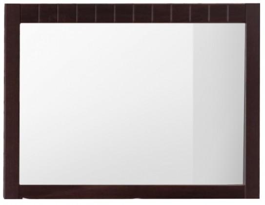 Zrcadlo Tampere - Zrcadlo, závěsné (schoko bardolino dub pílený)