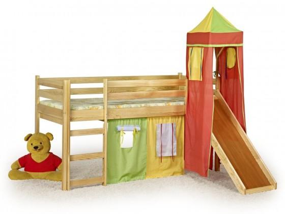 Zvýšená postel Flo (borovice)