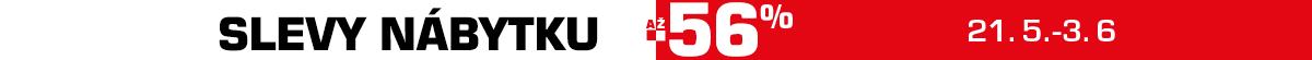 Slevová smršť vtrhla do našich skladů! Teď nakoupíš nábytek až o 56 % levněji! (jena)