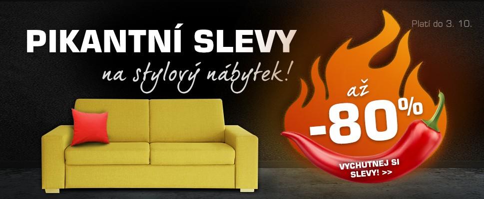 Vychutnej si pikantní slevy na elegantní nábytek!