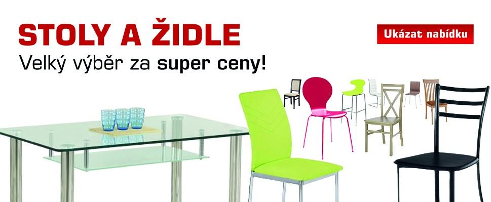 Stoly a židle - jena